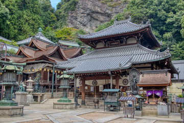 Foto auf Leinwand Kultstatte Temple