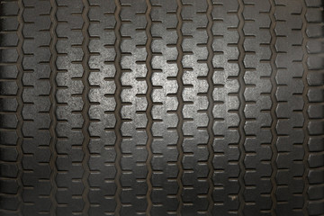 Close up of Tire tread pattern as desktop background Wall mural