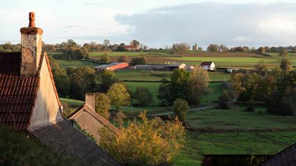 Former country farm in Burgundy, France