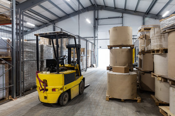 autoloader in a modern warehouse