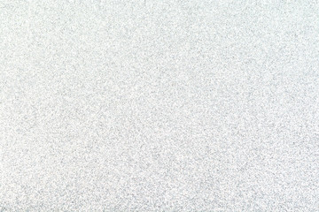 Silver glitter paper texture background