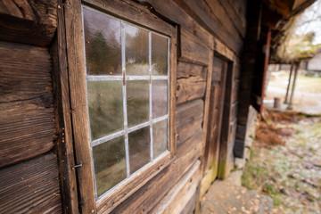 Printed roller blinds Old abandoned buildings Norwegen im November Alesund