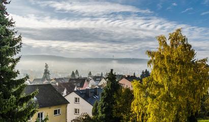 Herbstliche Morgenstimmung in Taunusstein