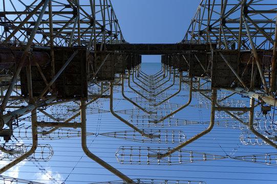 Chernobyl Duga radio transmitter