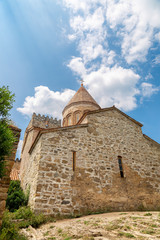 Church of the Savior in Ananuri fortress in Georgia