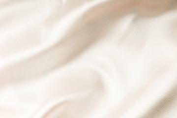 beige silk fabric texture. Satin Background