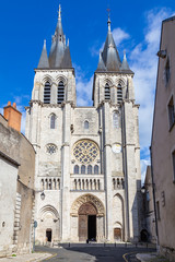 Eglise Eglise Saint-Nicolas in the ancient center of Blois in France