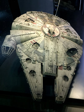 starwars Millennium Falcon Replica star wars identities exhibition