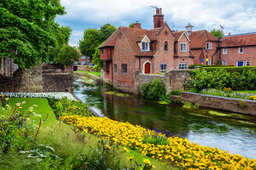 Canterbury town, England, United Kingdom Fotomurales