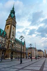 Hamburg town City Hall