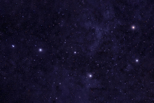 Big Dipper, against the backdrop of the nebula. Elements of this image were furnished by NASA.