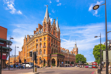 St. Pancras Renaissance hotel in London, uk