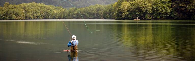 Fly Fishing (Banner) Fotomurales
