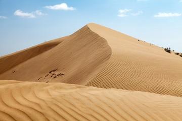 Cerro Blanco sand dune near Nasca or Nazca town in Peru Fototapete