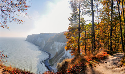 Stubbenkammer, Kreidefelsen, Nationalpark Jasmund, Insel Rügen