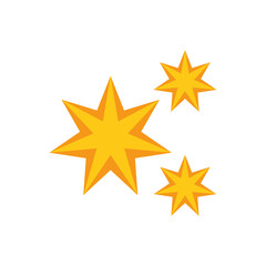 stars astrology moon flat icon image