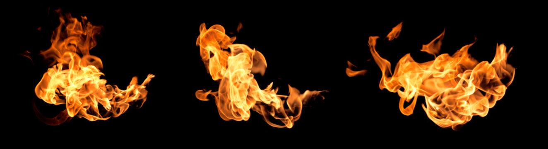 Flame heat fire