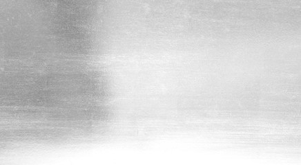 Silver foil shiny metal texture background