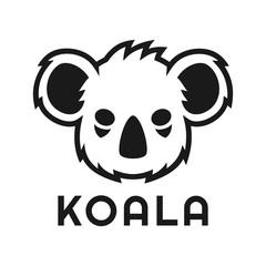 cool Koala head logo design inspiration