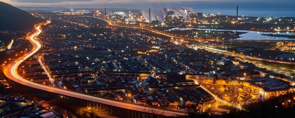 Port Talbot at Night