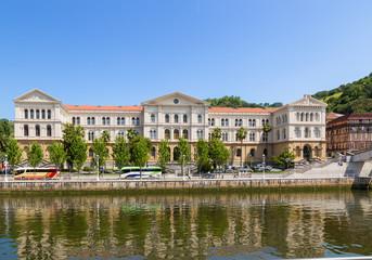 Bilbao, Spain. The building of the University of Deusto