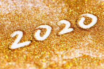 2020 happy new year background