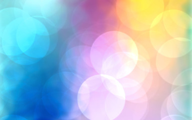 Wall Mural - Abstract background with bokeh,holiday wallpaper