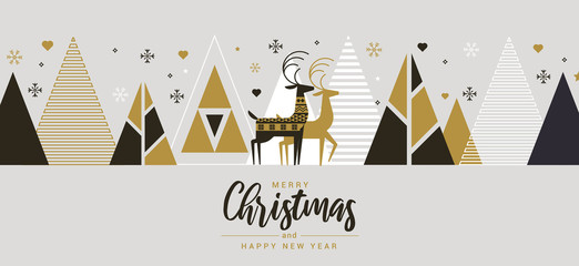 Simple Holiday New year card 3