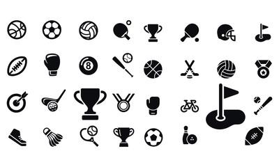 Sport  Icons vector design