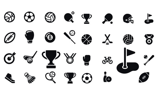 Sport  Icons vector design