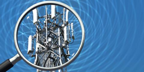 Sendemaststrahlung wird kontrolliert