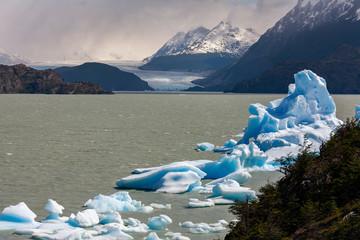 Grey Glacier - Torres del Paine National Park - Chile