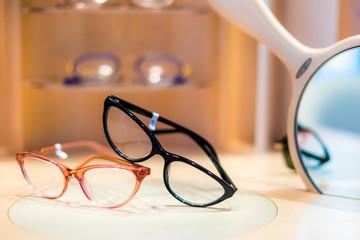 gafas oculares de óptica