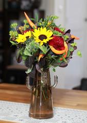 Bouquet de fleurs d'automne