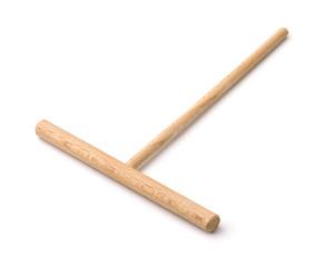 Wooden crepe spreader