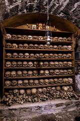 Human Skulls - Varlaam Monastery, Meteora, Greece