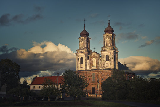 Dotnuva church and Monastery of the Lord Revelation for St Mary the Virgin, Dotnuva, Lithuania