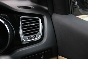 Modern car's interior design