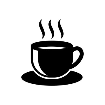 cup of tea - cup of coffee icon vector design template