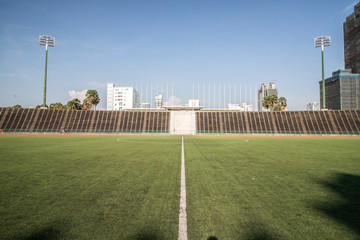 Olympic stadium of Phnom Penh, Cambodia