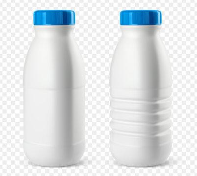 Bouteilles de lait vectorielles 3