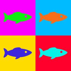 Fisch und Popart