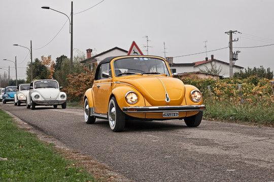 Vintage car Type 1 (Beetle) Cabriolet