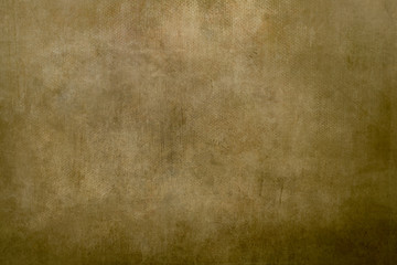 old golden canvas painting background
