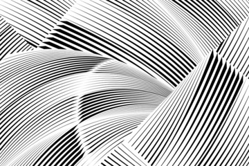 Abstract halftone lines background, creative geometric pattern, vector modern design texture.