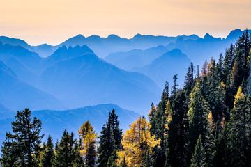 view near villach - austria