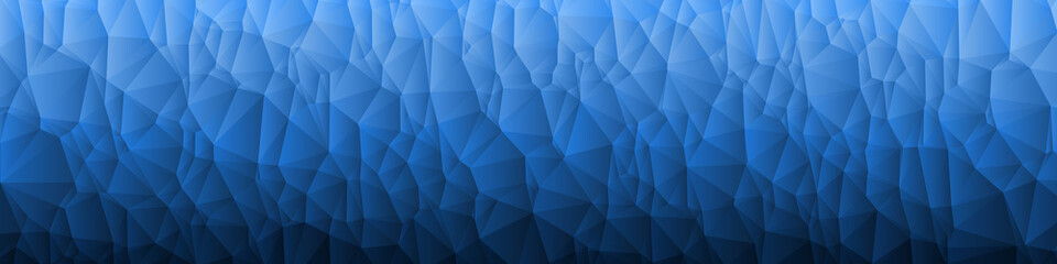 Abstract Color trianglify Generative Art background illustration Wall mural