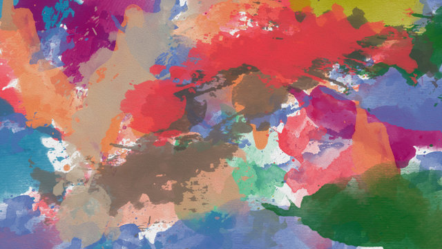 oil paint colorful abstract design in 8K