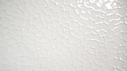 Obraz White ribbed structure porcelain background - fototapety do salonu