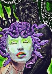 Medusa, figlia di Poseidone, mitologia greca